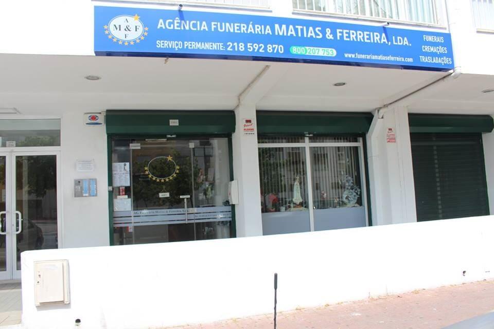 Fachada Funerária Matias e Ferreira Lisboa