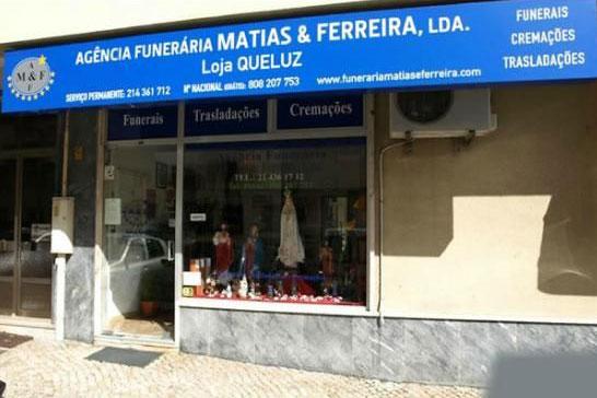 Fachada Funerária Matias e Ferreira Queluz